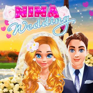 Nina Wedding makeover game picture