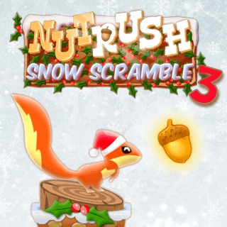 Nut Rush 3 - Snow Scrambl…