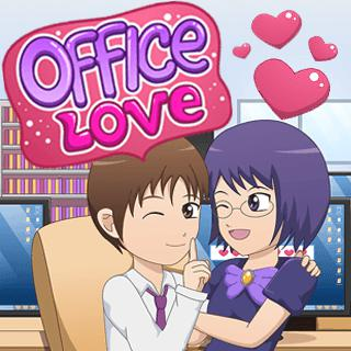Office Love Kissing