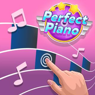 Perfect Piano Game - Play online at Y8 com