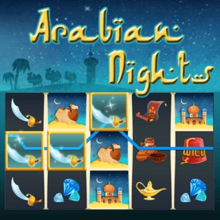 لعبة الحظ Arabian Nights
