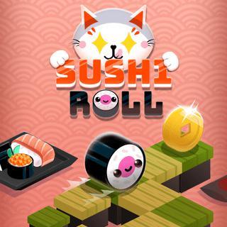 壽司卷-寿司卷-Sushi Roll-玩許多美味的壽司卷之一,並嘗試在這個無盡的奔跑者中盡可能地走遠!