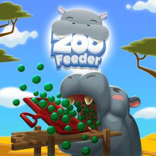 動物園餵食器-动物园餵食器-Zoo Feeder-在這個很棒的動物園遊戲中,嘗試收集盡可能多的食物,以餵養可愛但飢餓的動物!